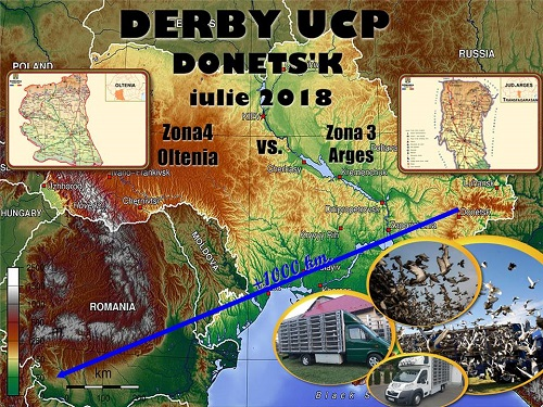 DERBY UCP 2018 DONETS'K + 1000 KM